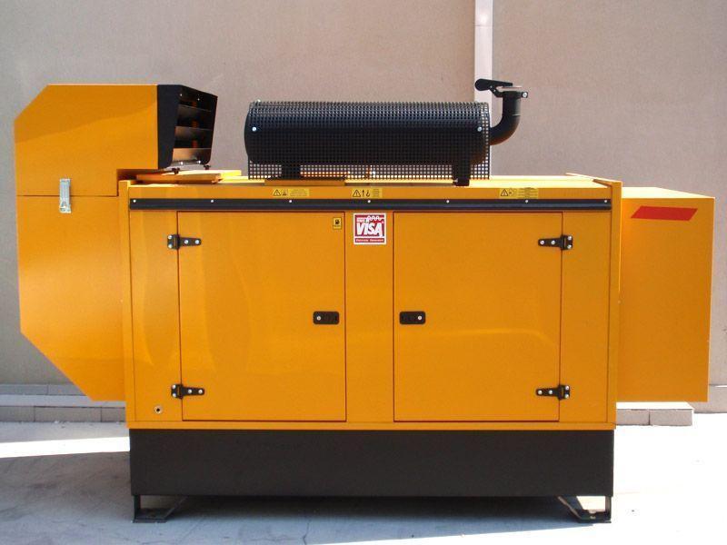 Дизелов агрегат, подсигуряващ аварийното захранване